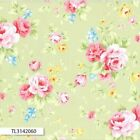 ANTIQUE FLOWER PASTEL 2016 MAIN ROSE GREEN QUILT SEWING FABRIC Free Oz Post