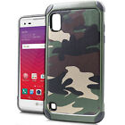 For LG X Style L56VL Premium Rubber IMPACT TRI HYBRID Hard Case Skin Phone Cover