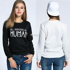 Fashion Women's Winter Hoodie Sweatshirt Jumper Sweater Hooded Pullover Tops DZ8