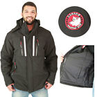 Canada Weather Gear Men's Softshell Goose Faux Down System Winter Jacket Coat