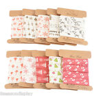 Grosgrain Ribbon Gift Pack Decor Merry Christmas Party Decorative Display 1.6cm