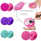 Silicone Round Egg Cleaning Glove Makeup Washing Brush Scrubber Tool Cleaners