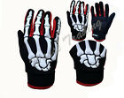 Motorcycle Bicycle Racing Accessories Sport Skeleton Bone Protect Gloves