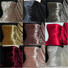 Marble Texture Velvet Lycra 4 Way Stretch Fabric Material Q172