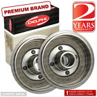 Opel Rekord E 1.8 Saloon S 89bhp Rear Brake Drums Pair Kit 230mm AC Delco Sys