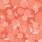 SUNDAY FLOWER PINK CIRCLES QUILT SEWING FABRIC Free Oz Post