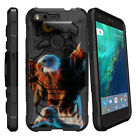 For Google Pixel XL Armor Clip Holster Stand Case Heavenly Stars