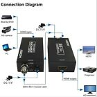 HDMI To SDI Converter Adapter Coaxial Cables 1080P HD Video Audio HDMI Extender