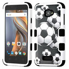 For Coolpad Catalyst IMPACT TUFF HYBRID Hard Protector Case Cover +Screen Guard