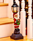 LIGHTED HOLIDAY LAMPPOST STAIRWAY CHRISTMAS DECORATION WINTER PORCH HOME DÉCOR