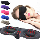 1pc 3D Soft Stripe Leopard Shade Cover Rest Eyepatch Blindfold Shield Sleep Mask