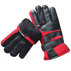 Leather Gloves Cycling Waterproof Winter Full Finger Ski Snowmobile