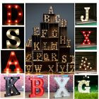 12'' White LED Marquee Letter Light Vintage Alphabet Circus Style Light Up Sign