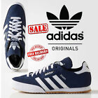 New Adidas Originals Samba Suede Mens Sports Casual Trainer Shoes Navy rrp £75
