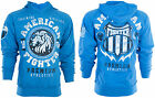 AMERICAN FIGHTER Mens HOODIE Sweat Shirt Jacket ALABAMA Lion Biker Gym UFC $65
