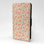 Poppy Print Design Pattern Flip Case Cover For Sony Xperia - P1063