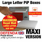 MAXIMUM SIZE Royal Mail LARGE LETTER PiP POSTAL BOXES Strong POSTING Mailers