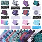 "MacBook Air 11"" Inch Designer Case Pattern Plastic Shell Cover + Keyboard Skin"