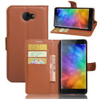 9 Colors Leather Case Flip Wallet Cover Stand Pouch For Xiaomi Redmi Note 2