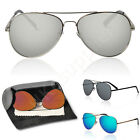Mirror Aviator Sunglasses Fashion Cool Sunglasses Men Women With Eyeglass Case