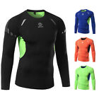Men's Athletic Slim Fit Long Sleeve Tight Thermal T-shirts Cycling Fitness Shirt