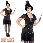 Flapper Ladies Fancy Dress 1920s 20s Charleston Womens Adult Costume Plus Size