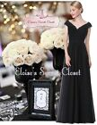 LORI Black Beaded Embellished Prom Evening Party Ballgown Dress UK Sizes 8 - 20