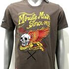 me5 Minute Mirth EMBROIDED T-shirt Tattoo PREMIUM LIMITED Skull Freedom Japan