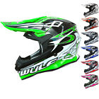 Wulf Sceptre Motocross Helmet Wulfsport Off Road Sports MX Quad Dirt Bike Enduro
