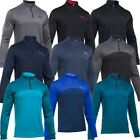 Under Armour 2017 Armour® Fleece Icon Logo Cover-Up Mens Golf Pullover Sweater