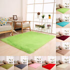 Fluffy Rugs Anti-Skid Shaggy Area Rug Dining Room Home Bedroom Carpet Floor Mat