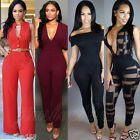 New Women Clubwear Sleeveless Playsuit Bodycon Party Jumpsuit & Romper Trousers