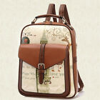 Women Casual PU Leather Backpack Girl School Shoulder Bag Rucksack Travel bags