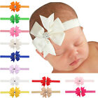 3 Inch Baby Newborn Hair Bow Headband Elastic Band Bowknot Hair Accessories