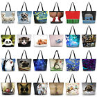 Cute Pattern Ladies Womens Foldable Tote Shoulder Shopping Bag Handbag Eco Bags