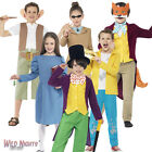 FANCY DRESS COSTUME # CHILDS KIDS BOOK WEEK DAY OFFICIAL ROALD DAHL CHARACTER