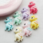 28x Mix Cute Color Little Horse Resin Flatbacks Flat Back Scrapbooking Lots
