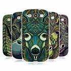HEAD CASE DESIGNS AZTEC ANIMAL FACES SERIES 6 GEL CASE FOR SAMSUNG GALAXY S3 III