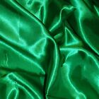 Silky Satin Dress Fabric Material 100% Polyester Craft