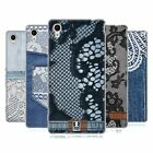 HEAD CASE DESIGNS JEANS AND LACES SOFT GEL CASE FOR SONY XPERIA M4 AQUA