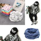 Warm Baby Scarf Children Child Cotton Neck Scarf Boys Girls O Ring Neck N4U8