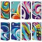 HEAD CASE DESIGNS MARBLES LEATHER BOOK WALLET CASE COVER FOR APPLE iPHONE 4 4S