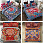 National Style Quilt Doona Duvet Cover Set Double/Queen Size Bed Floral New
