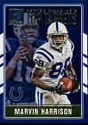 2016 Donruss Peyton Manning Top Targets Inserts Colts Broncos You Pick