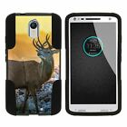 For Motorola Droid Turbo 2 XT1585 | Moto X Force | Kinzie Dual Layer Case Stand