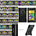 For Nokia Lumia Elvis Dual Layer Protective Case with Built-in Kickstand