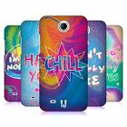 HEAD CASE DESIGNS HOLOGRAPHIC OVERLAYS BACK CASE FOR HTC DESIRE 300 / ZARA MINI