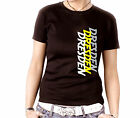 Damen Shirt Top Tee tattoo Meine Stadt Fun Shirt Ultras Pyro Fastival Dresden