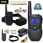300 Yard Electric Waterproof LCD Shock Vibra Remote Pet Dog Training Collar Kits <br/> 3 Kinds of Accessories to choose; free shipping from NJ