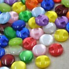 100pcs Resin Buttons Mix Cat's Eye Round Baby Sewing Craft DIY Shirt Accessories